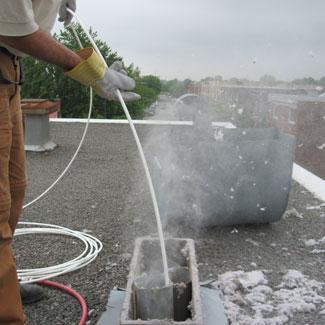 Nettoyage du tuyau de sécheuse