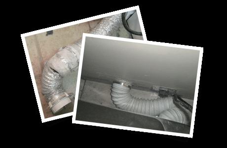 Tuyau de raccordement perforé / Tuyau de transition en plastique (vinyle) blanc