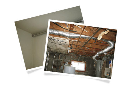 Exhaust duct too long / Relocating the dryer exhaust duct / Dryer duct too long